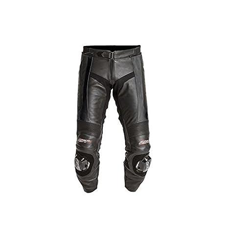 Nouvelle RST lame 1119 jambe courte cuir moto Jean noir