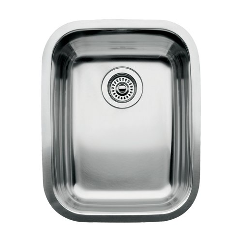 Blanco 510-879 Supreme 3/4 Single Bowl Kitchen Sink, Satin Polished Finish