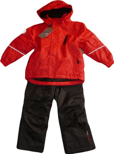 Color Kids.Ski-Anzug, Schneeanzug, Jussi Ski Set, rot günstig