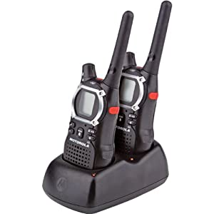 Motorola TalkAbout EM1000R 20-Mile 22-Channel FRS/GMRS Two-Way Radio (Pair)