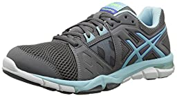ASICS Women\'s Gel Craze TR 3 Fitness Shoe, Titanium/Crystal Blue/Blue Purple, 6.5 M US