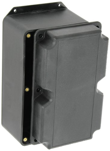 BUD Industries PT-11801 Style J Plastic Box, 8-1/4