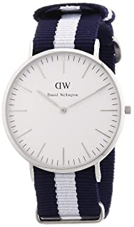 Daniel Wellington Classic Glasgow Silver Men´s 40mm Round Case