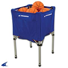 Buy Champro Fold Up Ball Cart (Blue, 25 x 25 x 40) by Champro