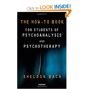 Image: Cover of The How-To Book for Students of Psychoanalysis and Psychotherapy