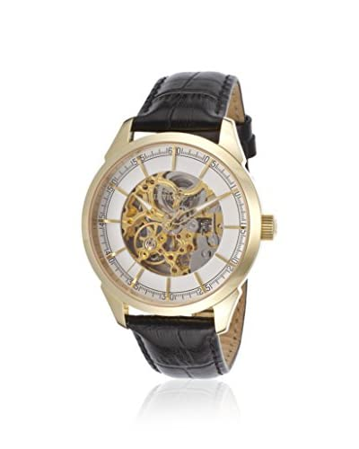 Invicta Men's 18133 Specialty Black/White 18kt. Gold Plated Stainless Steel Watch