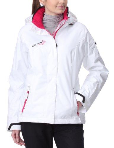 ZIENER TWODAYS WOMEN 11/12 Damen Freeride Skijacke Snowboardjacke (114103) (585 WHITE, 40)