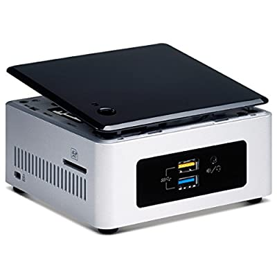 Mini PC Intel® NUC Kit NUC5PGYH 2 GB RAM 32GB eMMC on-board with pre-installed Windows 10 Bing RAVIRAJ Technologies