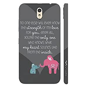 Lenovo P1M Mom,you know me best designer mobile hard shell case by Enthopia