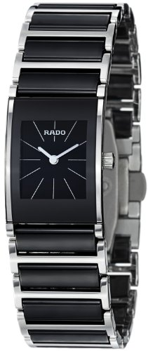 Rado Women's R20786152 Integral Black Dial Watch