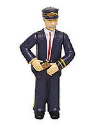 "Bachmann Industries Conductor with Blue Uniform - Large ""G"" Scale Figure - 1"