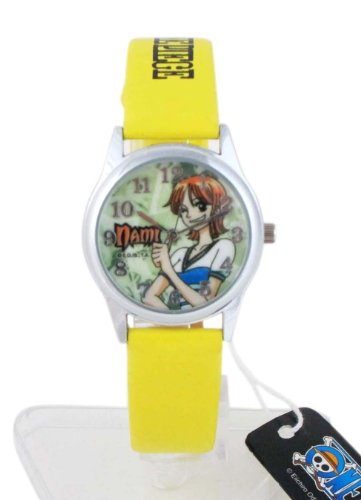 Yellow Band One Piece Anime Watch - One Piece Watch