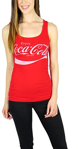 [Coca Cola Womens Tank Top Large Red] (Coca Cola Dress)
