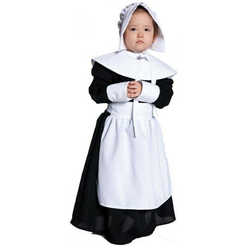 [Pilgrim Girl Costume - X-Large] (Baby Pilgrim Costumes)