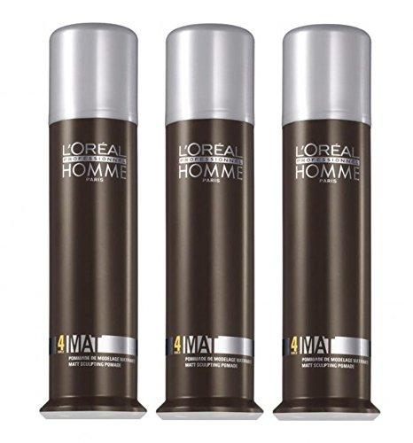 loreal-lp-homme-mat-pasta-da-modellare-3-x-80-ml-styling-pomade-con-effetto-opaco