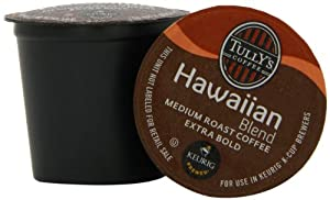 Tully's Coffee Hawaiian Blend K-Cups by Tully's Coffee