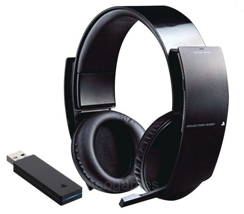 *New* Genuine Sony Official Ps3 Wireless Stereo Gaming Headset For Playstation3