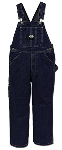 Lakin McKey Key Soft Washed Youth Bib Overall - Size 8