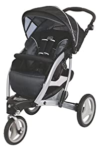 Graco Trekko Stroller Metropolis, Black/Grey, 1-Pack