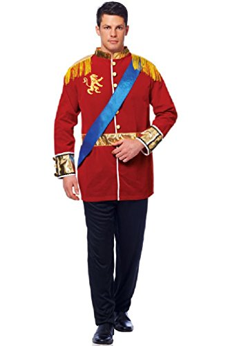 8eighteen Classic Fairy Tale Royal Prince Charming Adult Costume