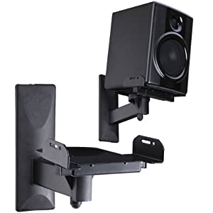 Amazon Com Videosecu Side Clamping Bookshelf Speaker Wall