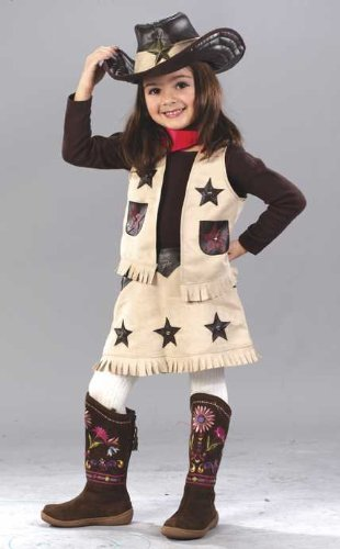 Toddler Cowgirl Costume (Toddler (3T-4T) (Cowgirl Costume For Toddler)
