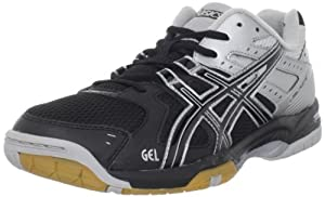 ASICS Men's GEL-Rocket 6 Volleyball Shoe,Black/Silver,9 M US