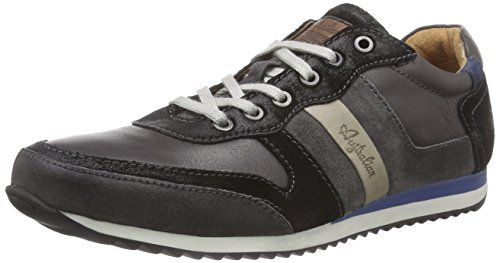 AustralianFairfax  leather - Sneaker uomo , Grigio (Grau (Grey-Black)), 40