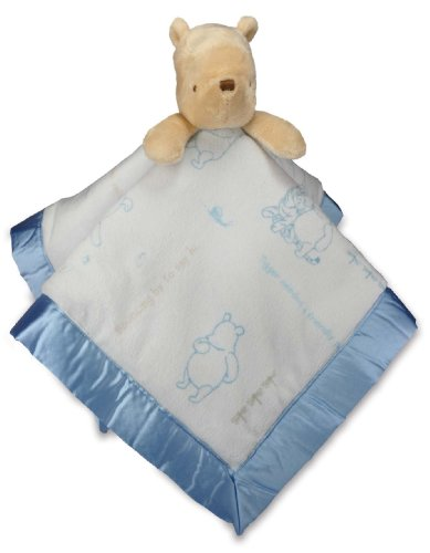 Kids Preferred Classic Pooh Blankie, Winnie The Pooh front-1002769