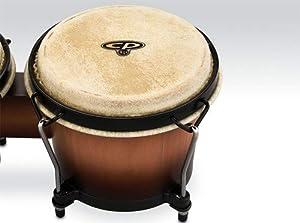 Latin Percussion 9 and 10 Conga Set with Free Bongos