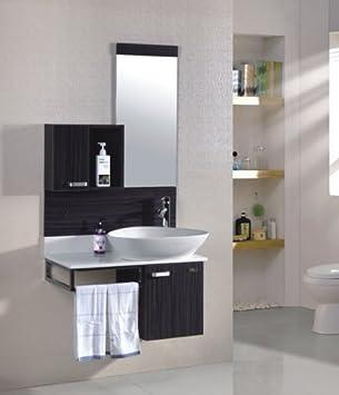 Ensemble meuble salle de bain Oslo Wengé - M-70105/236 ...