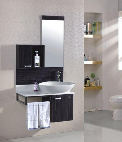 Meuble vasque salle de bain les bons plans de micromonde - Meuble sous vasque wenge ...