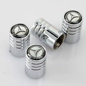 Mercedes tire stem valve caps for Mercedes benz valve stem caps