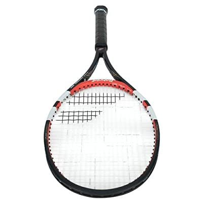 Babolat 101204-144 Pure Control 95 Plus GT Unstrung Tennis Racquet, 4 3/8 (Black/Red)