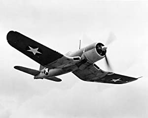 Chance Vought F4U Corsair WWII Aircraft 8x10 Silver Halide Photo Print