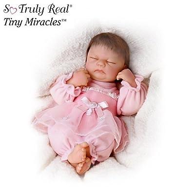 Linda Webb So Truly Real Ashlyn Baby Doll From Tiny Miracles by Ashton Drake