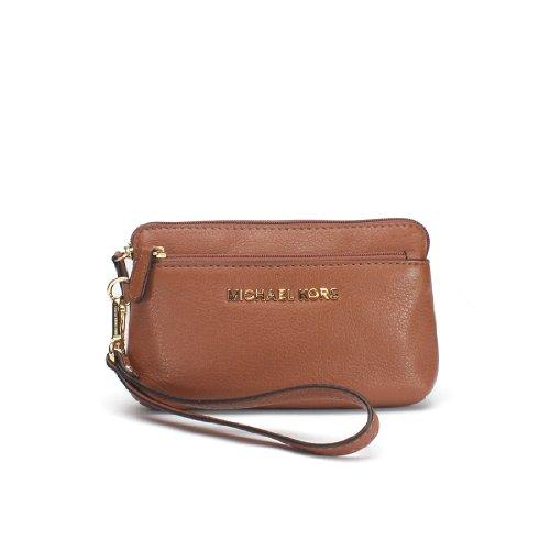 Michael Michael Kors Bedford Medium Wristlet Wallet, Luggage