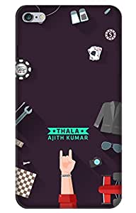 iessential thala Designer Printed Back Case Cover for Apple iPhone 6