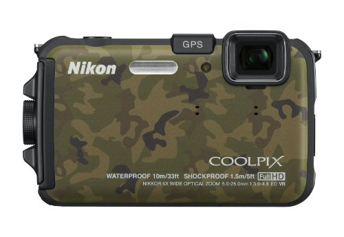 Nikon COOLPIX AW100 16 MP CMOS Waterproof Digital