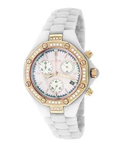 Le Chateau Women's 5824l_pnkmop Condezza LC Collection Ceramic and Zirconias Watch