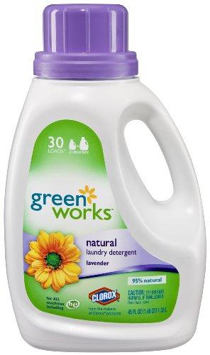 GreenWorks Natural Laundry Detergent Liquid Lavender