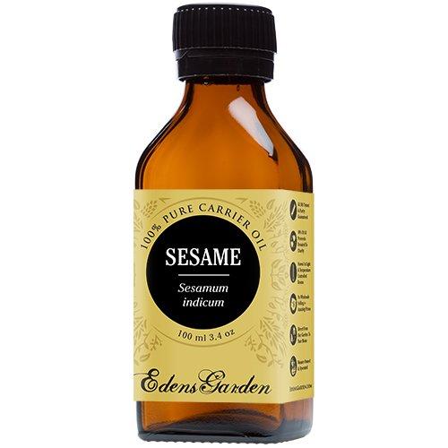 Sesame 100% Pure Carrier/ Base Oil- 3.4 oz (100 ml) by Edens Garden