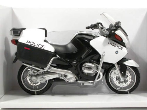 2009 BMW R1200RT-P Police diecast motorcycle Model 1:12 scale die cast by New Ray