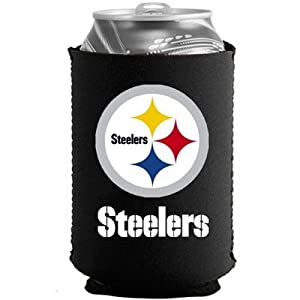 Pittsburgh Steelers Kolder Holder Can Cooler at Steeler Mania