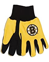 NHL Boston Bruins Two-Tone Gloves