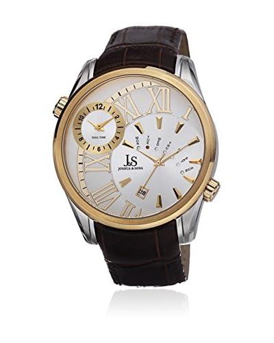 Joshua & Sons Reloj de cuarzo JS72YG Marrón 48  mm