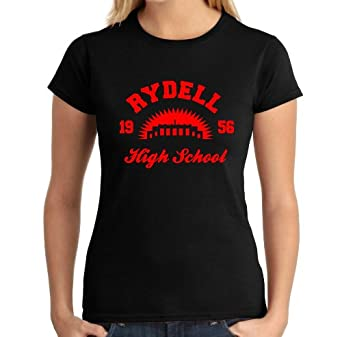 Rydell High Design 2 Ladies T Shirt Inspired By Grease
