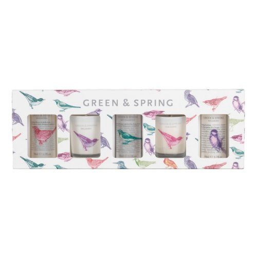 Green & Spring Mini Bodycare Set