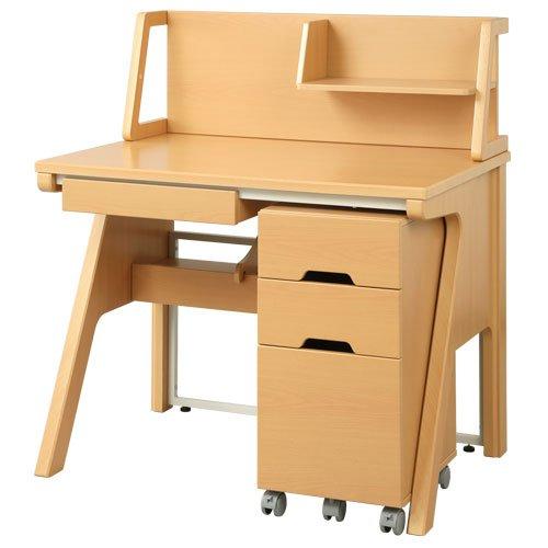 日本インテリア 学習机 おしゃれ ハイタイプ 男の子 女の子 セット コンパクト 子供 勉強机 勉強デスク ナチュラル