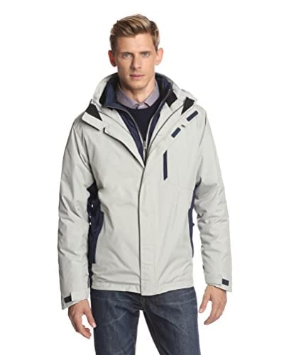 IZOD Men's Hooded Systems 3-in-1 Parka